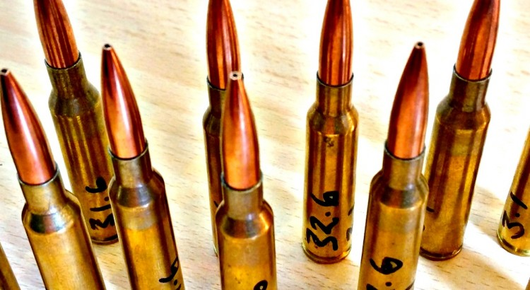Hand loaded 6.5x55 rounds. Featuring PPU brass and 142gr Sierra Matchkingds.