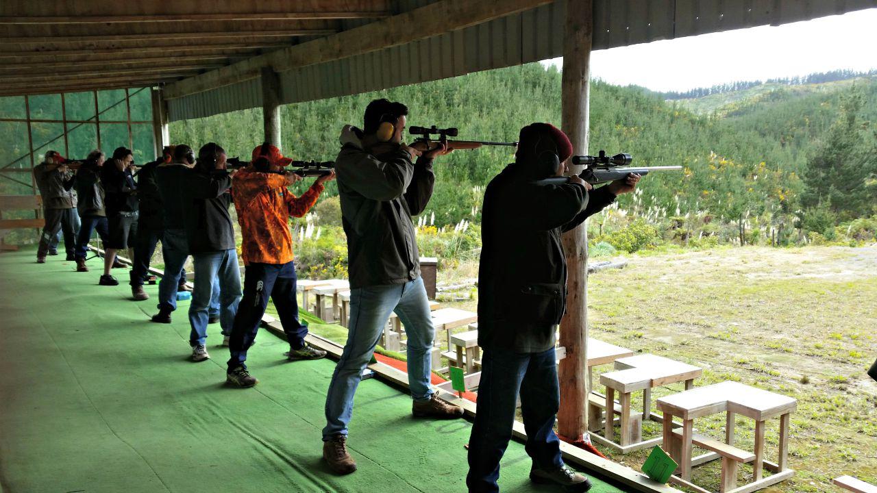 NZDA 100 metre standing shoot