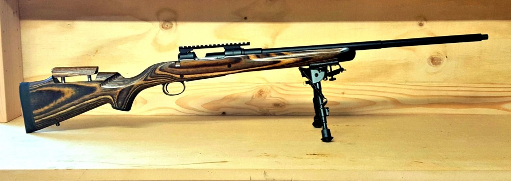 This Swedish Mauser was my second ever Boyds project, in a Prairie Hunter stock.