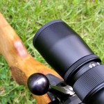 The ocular bells allows plenty of clearance for bolt handles and gloved fingers.