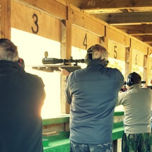 The rapid shoot section can be a challenge for single shot rifles and some of the bigger competition rigs that show up.