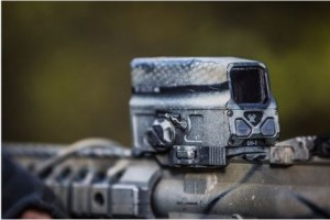 Loving that camo look? One of the Vortex staffers performed a spray can overhaul on this optic.
