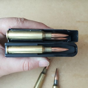 The MDT 300 WM metal magazines give you an extra 1 - 2mm to play with.
