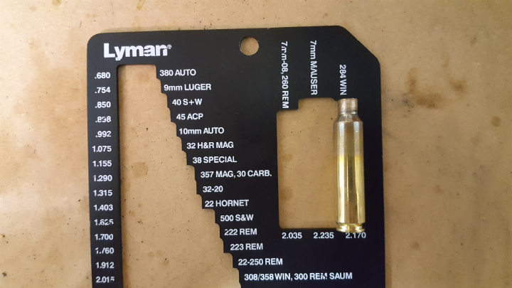 The Lyman case length gauge has multiple calibres and is a very quick way to check your brass length.