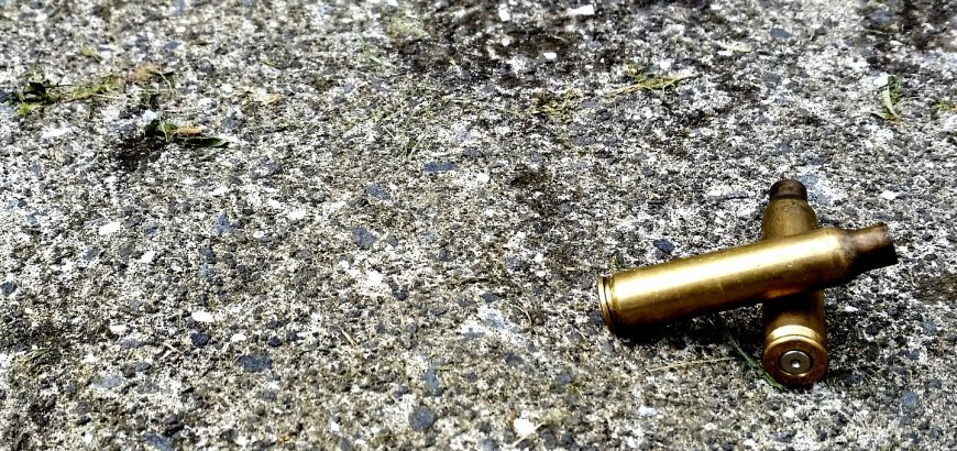 Ejected .223 brass