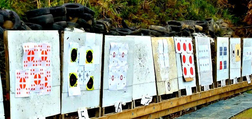 NZDA Auckalnd Branch range target boards.